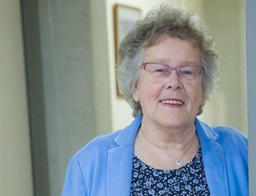 Mevrouw Kruse mist de knuffels van haar kleinkinderen