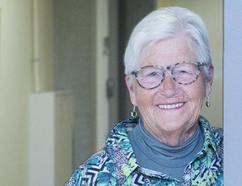 Hoe doet mevrouw Scheltes 79 jaar haar boodschappen tijdens het Corona virus?